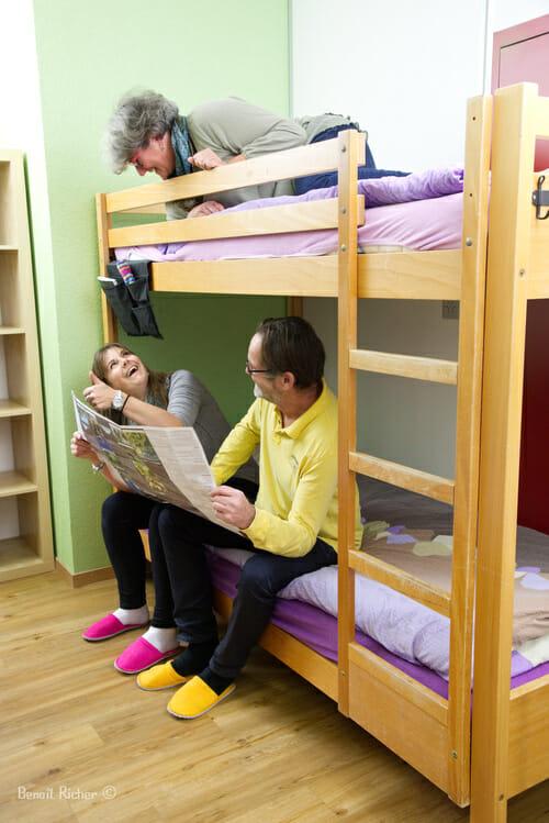 Visite du Petit Baroudeur - chambre de 4 - groupe d'amis