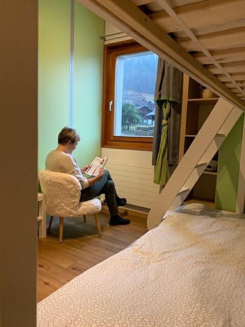 Visite du Petit Baroudeur - Chambre individuel - Mont Royal